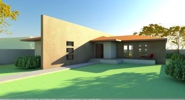 casa V1 - exterior casa 1
