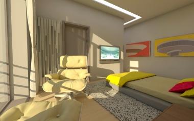 dormitor mare etaj