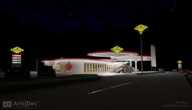 benzinarie concept 1 de noapte - 2