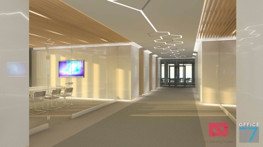 thales office design orhideea towers